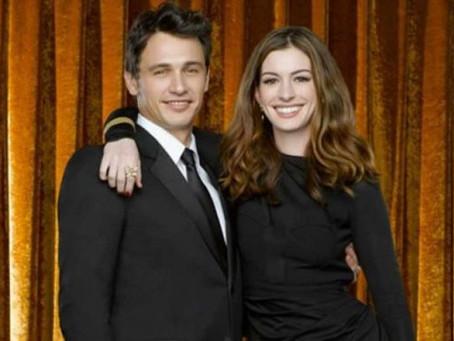 Revelan total falta de química entre Anne Hathaway y James Franco