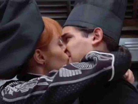 Polémica por beso de Emilio Osorio a la novia de su padre