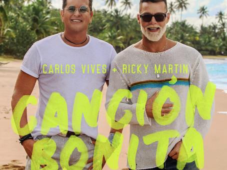 Carlos Vives y Ricky Martin presentan 'Canción Bonita'