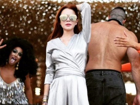 Baile de Lindsay Lohan es motivo de memes en las redes sociales