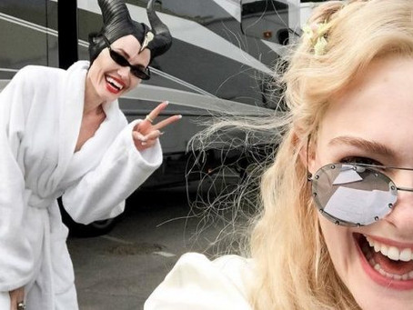 "Angelina Jolie aprendió con Elle Fanning a ser ""boba"""