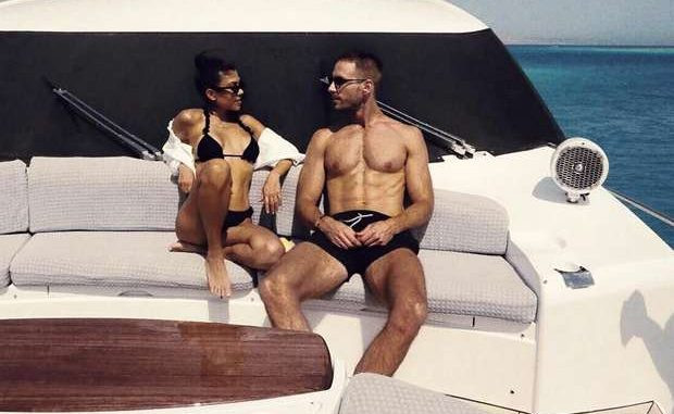Kourtney Kardashian y su pareja Younes Bendjima