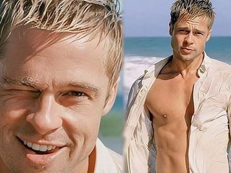 Brad Pitt está feliz de dejar su lugar a galanes más jóvenes