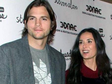 Demi Moore sufrió un aborto de un hijo que esperaba con Ashton Kutcher