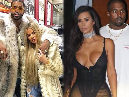 Khloé Kardashian y Tristán Thompson están furiosos con Kanye West