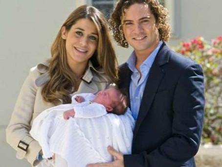David Bisbal y Elena Tablada celebran por separado cumpleaños de su hija