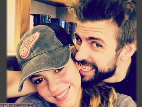 Gerard Piqué y Shakira intercambian amorosos mensajes