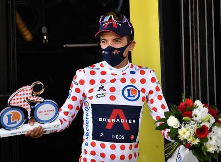 Richard Carapáz conquista la montaña del Tour de Francia en la etapa 18