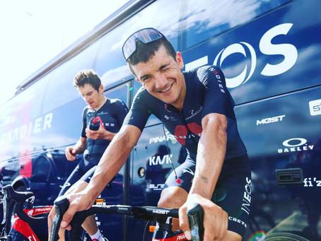 Richard Carapáz: Intentaremos entrar al podio, ser segundos