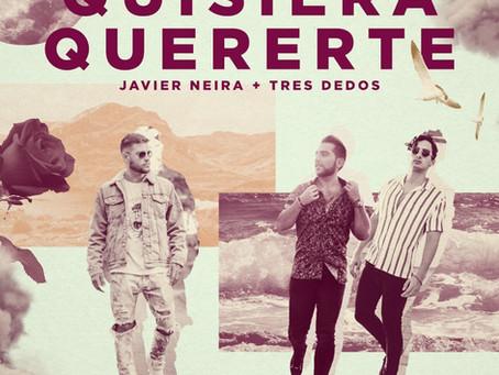 """Javier Neira presenta """"Quisiera quererte"""" junto a Tres Dedos"""