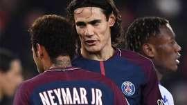 Cavani revela sus problemas con Neymar