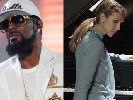 Celine Dion también elimina su canción que interpreta junto al rapero R. Kelly