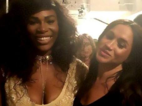 """A Serena Williams """"se le salió"""" decir el género del bebé que espera Meghan Markle"""