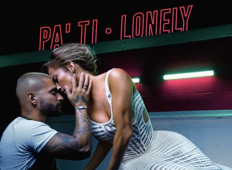 """Aquí está Jennifer López y Maluma en """"Pa ti"""" y """"Lonely"""" dos canciones, un solo vídeo"""