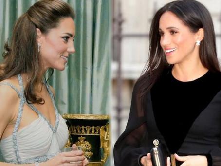 Esto dice Kate Middleton sobre el embarazo de Meghan Markle