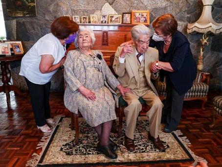 Fallece en Quito el esposo de la pareja de casados más longeva del mundo