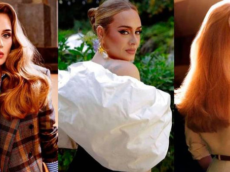 Adele muestra su lado más sensual con atuendo de piel en cita con su novio