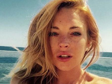Lindsay Lohan provoca atrasos en nuevo programa de TV por vicio de fumar