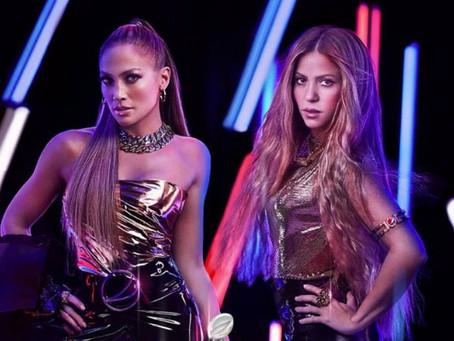 Así fue la presentación de Shakira y Jennifer López en el Super Bowl