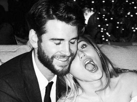 Liam Hemsworth se enteró de su separación de Miley Cyrus por las redes sociales