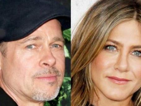 Brad Pitt y Jennifer Aniston están felices de poderse apoyar mutuamente