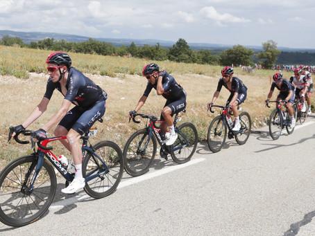 Richard Carapáz ascendió un puesto en el Tour de Francia, al final de la etapa 11