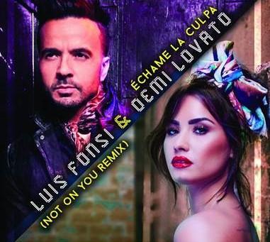 """Luis Fonsi y Demi Lovato estrenan """"Not on you"""" versión en inglés de """"Échame la culpa&"""