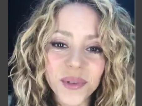 Shakira da su versión sobre el problema legal que enfrenta en España