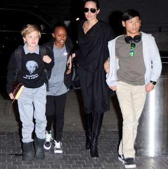 El niñero de Angelina Jolie que ha disparado las alarmas