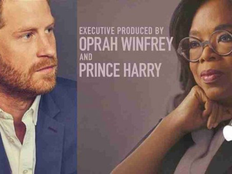 Programa de televisión del príncipe Harry y Oprah Winfrey ya tiene fecha de estreno