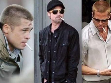 Hábito de fumar a Brad Pitt enloquece a sus hijos
