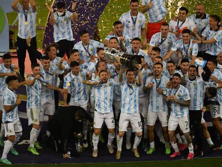 Argentina propina 'Maracanazo' a Brasil y es campeón de la Copa América tras 28 años