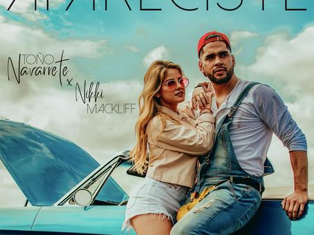 """Lo nuevo de Toño Navarrete y Nikki Mackliff """"Apareciste"""""""