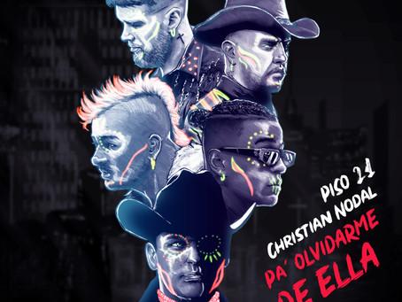 "Piso 21 presenta ""Pa' Olvidarme de Ella"" junto a Christian Nodal"
