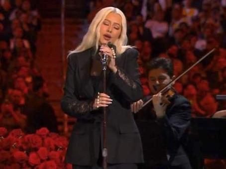 "Christina Aguilera ha grabado nuevo material para la próxima película ""Mulan"""