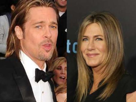 Posible reconciliación entre Brad Pitt y Jennifer Aniston inunda la red