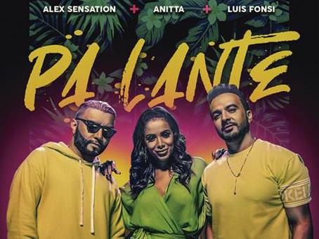 """""""Pa' Lante"""" El nuevo hit de Alex Sensation junto a Luis Fonsi y Anitta"""