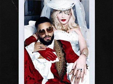 """Madonna estrena nueva canción """"Medellín"""" junto a Maluma"""