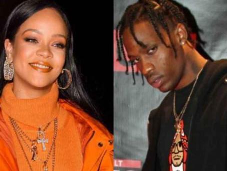 Travis Scott dejó a Rihanna para salir con Kylie Jenner