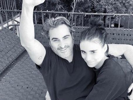 Joaquín Phoenix y Rooney Mara esperan un hijo juntos
