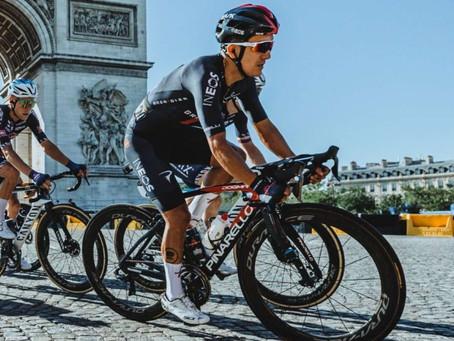 Richard Carapáz es el quinto mejor ciclista del mundo