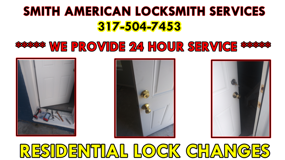 Residential Lock Changes! Holiday Specials! Lockouts! 317-504-7453!
