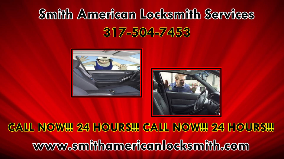 Smith American Locksmith Services! 24 Hour Lockouts! Lockouts Indianapolis! 317-504-7453! 2020!