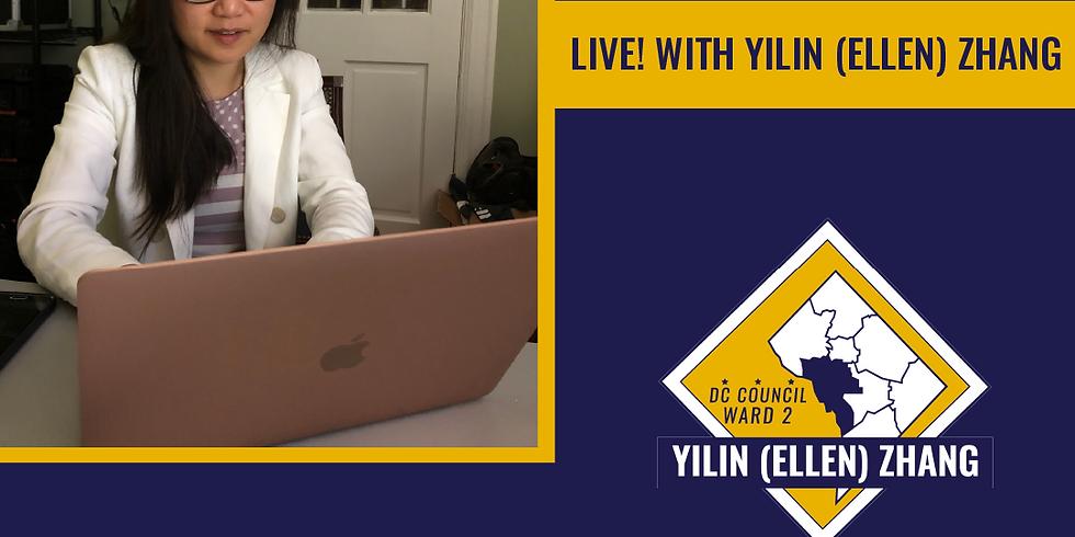 Yilin Ellen Zhang Facebook Live Event