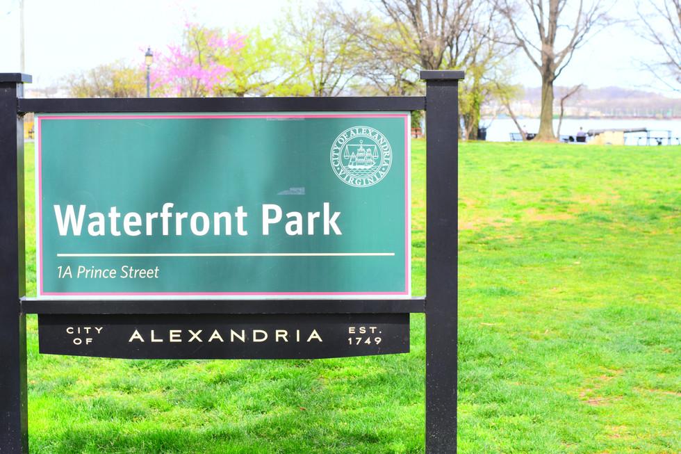 Adopt-a-park in Alexandria