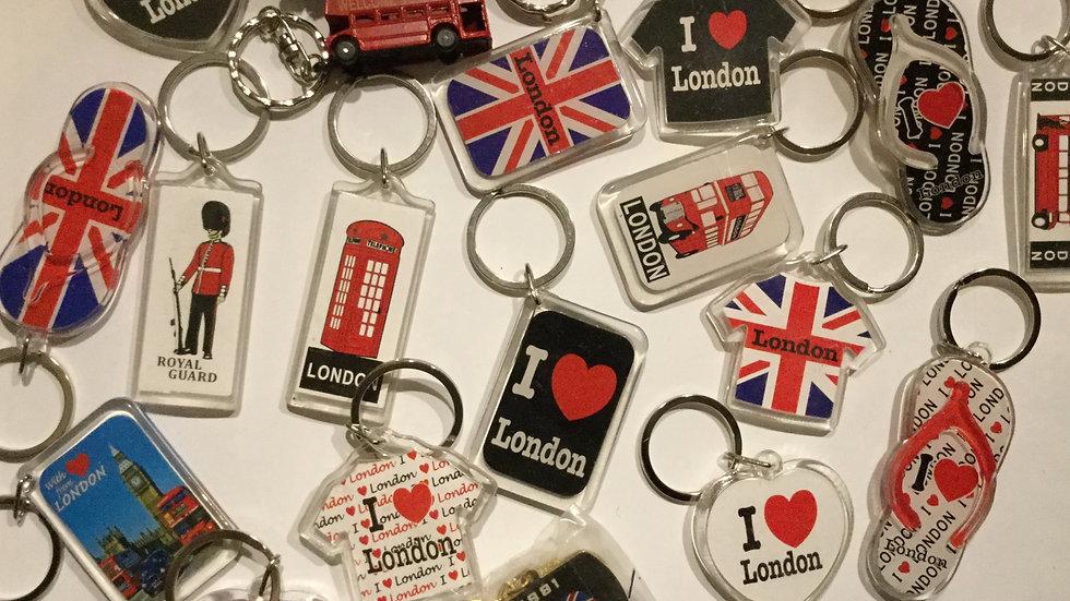 I Love London Keyring