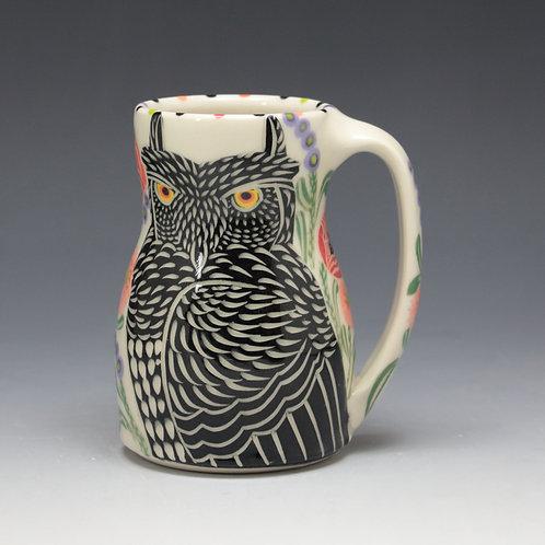 Black Owl Mug