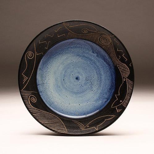 """16"""" Carved Rim Platter"""
