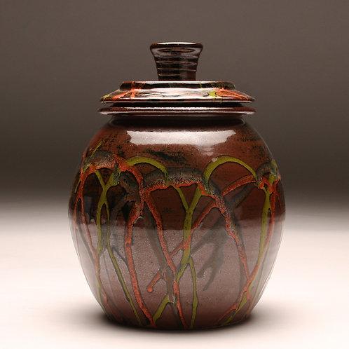 Extra Large Tenmoku Carnival Jar