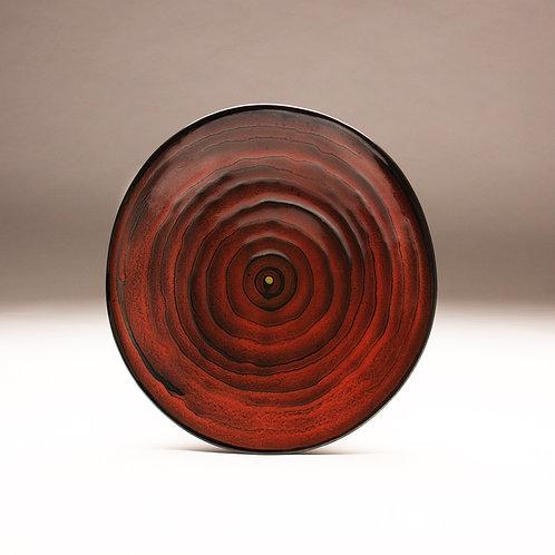 Red Circles Platter